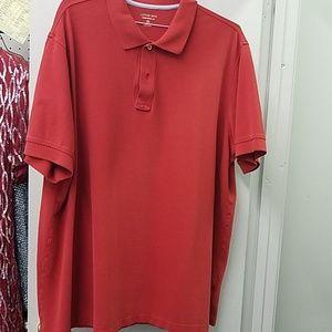 Lands' End Dk. Red Shirt
